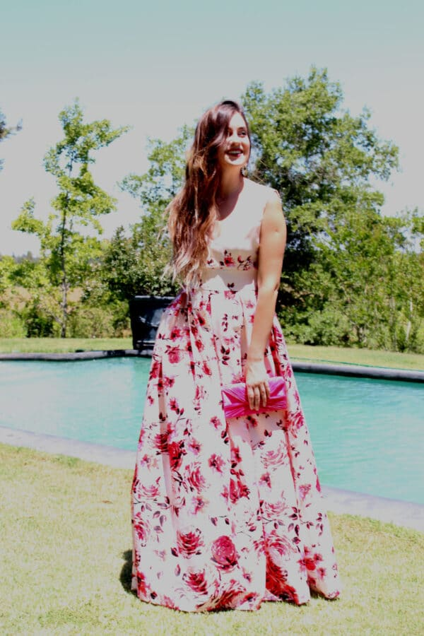 Vestido Rosas 2