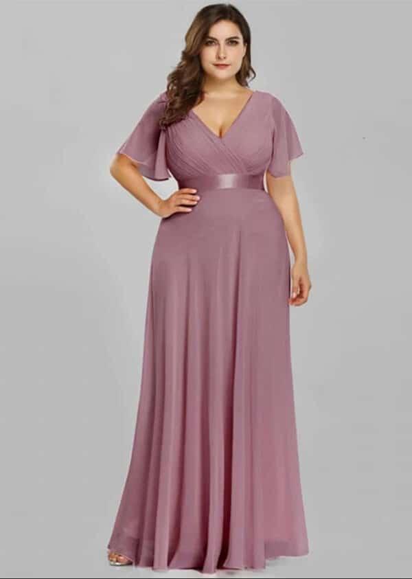Vestido roma rosa
